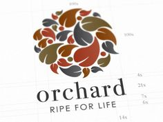 Orchard Supermarket Identity designed by Matt Anderson. Connect with them on Dribbble; Print Design, Logo Design, Graphic Design, Corporate Identity, Brand Identity, Tree Logos, Down On The Farm, Logo Concept, Logo Branding