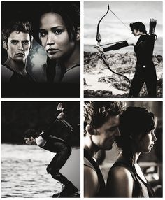 Katniss and Finnick