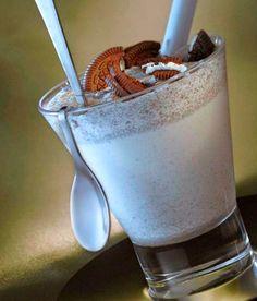 A sweet treat with double espresso, vanilla icecream, and Oreo cookies? Yes, please! - at Island Shangri-La, #HongKong
