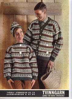 Vårli 576 S Norwegian Knitting, Yarn Crafts, Color Combinations, Christmas Sweaters, Knitting Patterns, Men Sweater, Vogue, 1970s, Colour