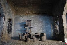 Op tx100. Installation pop-up du céramiste Frederick Gautier sur la péniche…
