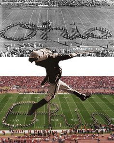 Script Ohio and the Drum Major: Ohio State University Band