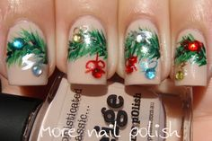 Nail Polish Canada - Holiday Nail Art Challenge - Decorations - More Nail Polish