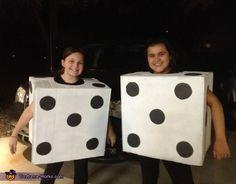 Pair of Dice Costume - Halloween Costume Contest via @costume_works