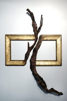 Darryl Cox - Frames turning into tree branches