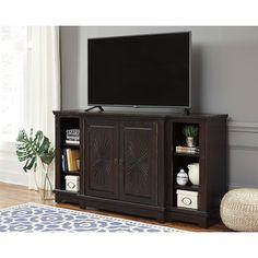 Dark Brown XL TV Stand | Brian's Furniture