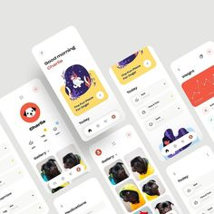 """Application on Instagram: """"Pets App Brain By: @mikhaltsov.23 Use #APPBrainy Community and Get Free Features ➖➖➖➖➖➖➖➖➖➖ - Sticky Webs: @WebsiteBrainy - Experience…"""" Sticky Web, Mobile Ui Design, Brain, Web Design, Community, App, Pets, Cards, Free"""