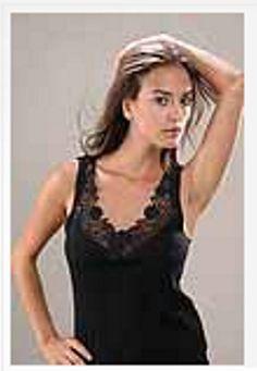 Damenhemd mit super Spitze