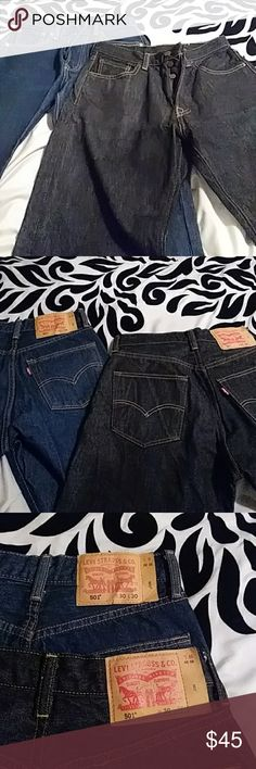 Two pair of Young Mens Levi jeans Denim jeans Levi's Bottoms Jeans