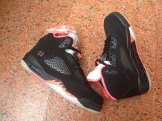 Air Jordan 5 AJ5 Basketball Shoes A  Lovers Men And Women Shoes Black Pink|only US$75.00 - follow me to pick up couopons. Trail Shoes Women, Women Oxford Shoes, Converse Shoes, Sneakers Nike, Duck Shoes, Latest Shoe Trends, Jordan 5, Skate Shoes, Basketball Shoes
