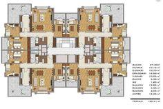 blok aprt makeup ideas on brown eyes - Makeup Ideas Brick Architecture, Concept Architecture, Craftsman Floor Plans, House Floor Plans, Commercial Building Plans, Plan Hotel, Flat Plan, Florida House Plans, Architectural Floor Plans