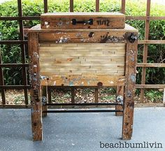 Pallet cooler box (doubles as inspiration for a bench!)