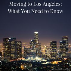 While moving to Los Angeles is most definitely an exciting thing, there are a few tips you'll want to consider before you pack up your stuff and head to the West Coast. Moving To California, California Love, California Dreamin', Los Angeles California, Los Angeles Apartments, Moving To Los Angeles, Living In La, City Of Angels, Travel Goals