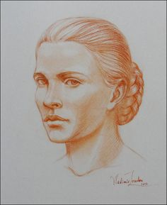 How to Draw a Portrait in Three Quarter View