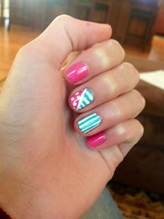 Easy summer nails