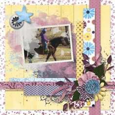 Dae Designs new release Bouquet is perfect for Spring! I used these fabulous colors for the Mask It challenge at Go Digital Scrapbooking. I used masks by Dana's Footprint Digital Design and the challenge mask freebie. I love all of the flowers in this kit!