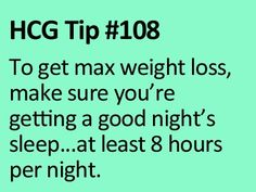 This is a great tip not only for the HCG diet but in general.  Many studies have proven this!