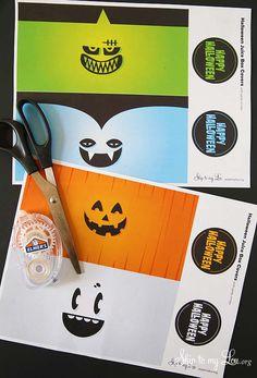 Printable Halloween Juice Box Covers - Skip To My Lou Skip To My Lou