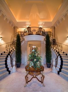 Foyer - An entrance hall or other open area in a home, often considered a showpiece of the home, as it is in public view from the front door. Luxury homes often feature elaborate or well-appointed foyers.