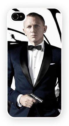 Skyfall Daniel Craig iPhone 5 Mobile Phone Hard