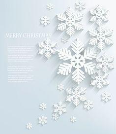 Векторный клипарт - Снежинки 2