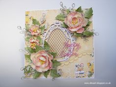 Elina Cardmaking Hobby: Easter Sunny card for Love to Craft & Create DT