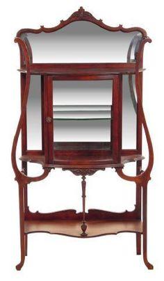 Art Nouveau Shelf (étagère) - Early 20th Century - love this