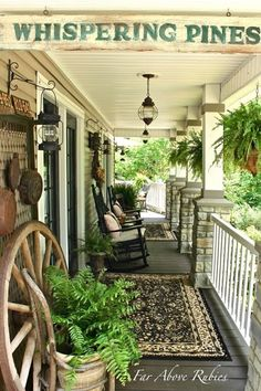 porch signs | From My Front Porch To Yours: How I Found My Style Sundays- Far Above ...
