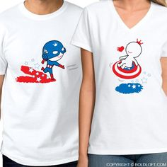 Need inspirations for your movie date outfits 🎬🍿👫? BoldLoft All I Want is You™ His & Hers Matching Couple Shirts-Captain America Shirt-Superhero Gift – BOLDLOFT Couple Tees, Matching Couple Shirts, Matching Couples, Matching Outfits, Couple Gifts, Boyfriend Girlfriend Shirts, Gifts For Your Boyfriend, Husband Gifts, Captain America Shirt