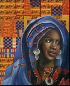 Nana Asma'u (1793-1834) was the daughter of Usman dan Fodio, founder of Sokoto  Caliphate which was one of the most powerful kingdom's in northern  Africa of the time. For some, Asma'u represents the education and  independence that is possible for women under Islam and remains a model  for African feminists into the present.