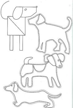 dogs to applique