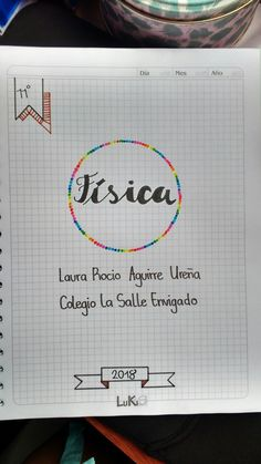 Escuela School Motivation, Study Motivation, School Items, I School, Bullet Journal Titles, Drawing School, Custom Notebooks, School Notebooks, Decorate Notebook