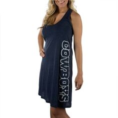 Dallas Cowboys Marigold Tank Dress