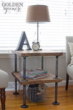 Build This Beautiful Side Table