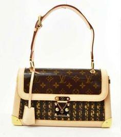 Louis Vuitton Monogram Tweed Shoulder Bag $3,495 #bags #fashion