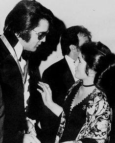 Elvis and Priscilla Presley attend the U. Jaycees at Holiday Inn-Rivermount in Memphis, TN. Elvis Presley Priscilla, Elvis Presley Family, Elvis Presley Photos, Lisa Marie Presley, Graceland Elvis, Robert Sean Leonard, Elevator Music, Elvis In Concert, Most Handsome Men