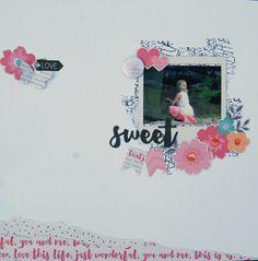 """""""Sweet"""" by Stina Westbom - C'est Magnifique September 2015 Kit"""