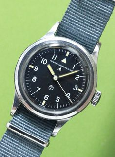 International Watch Co. Mark XI (Royal Air Force) Cal.89 C 1951 #vintagewatch…
