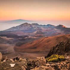 Haleakala #NationalPark is home to Mauis highest peak. Rising 10023 feet above sea level Haleakalas summit is a landscape that is deeply sculpted richly colored and unlike anything youve ever seen. #Sunrise and #sunset at the summit of #Haleakala (which means house of the sun) are popular events  and dont forget to stick around for some of the best stargazing in the world. Photo @haleakalanps courtesy of Chris Archer (@Archer357). #usinterior #findyourpark - via U.S. Department of the…