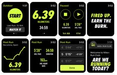 Another awesome feature for those with a Apple Watch.Nike+ Run Club watch app Apple Watch Fitness, Apple Watch Apps, Apple Watch Nike, Running App For Beginners, Map My Run, Best Workout Apps, Nike App, Apple Watch Fashion, Web Design