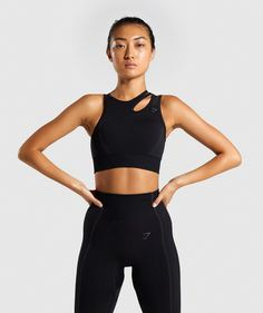 Shop Women's Sports Bras created with a completely natural range of motion and comfortable feel. Supportive Sports Bras, Women's Sports Bras, Sport Bras, Womens Workout Outfits, Sport Outfits, Gym Outfits, Nylons, Little Girl Models, Workout Attire