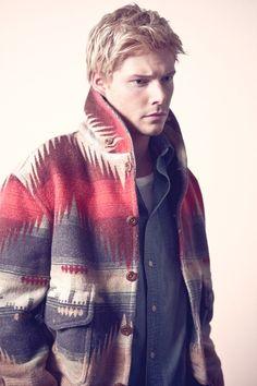 Navajo pattern on the jacket