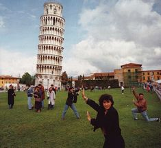 Martin Parr - Leaning Tower Of Pisa. I really like this picture as it is very humorous. It shows what actually happens at the leaning Tower of Pisa in everyday life. This photo photo was taken outside so it is in natural lighting, and there is no composition rule I see particularly clearly. Maybe that the tower of Pisa is more one the side than in the middle.