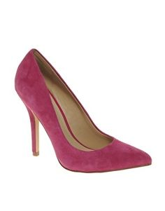 ALDO Mease Suede Pointed Courts - StyleSays