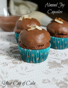 Almond Joy Cupcakes I am telling you that this is one of the best desserts I have EVER had. I thought it would be too rich but trust me when I tell you eating this cupcake was shear delight! SPS