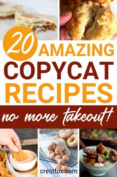 Tasty Dishes, Food Dishes, New Recipes, Favorite Recipes, Frosty Recipe, Classic Restaurant, Copykat Recipes, Air Fryer Recipes Easy