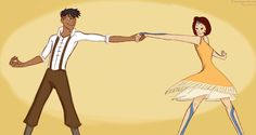 Dancing Older Kainora by kunoichimistress.deviantart.com on @DeviantArt