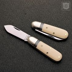 #25 Tidioute Cutlery Barlow in Unicron Ivory Acrylic