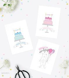 kartki i zaproszenia na urodziny do wydruku | mavelo