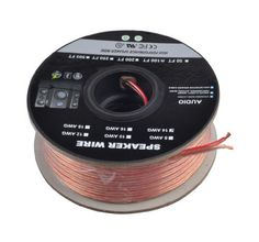 C 100 Feet 14AWG Enhanced Loud Oxygen-Free Copper Speaker Wire Cable by C Save 48 Off!. $31.38. 100 Feet 14AWG Enhanced Loud Oxygen-Free Copper Speaker Wire Cable Overview Get the most out of your home audio system with high quality, oxygen-free copper speaker wire from Cables & Etc This wire features two conductors made of high purity (greater than 99.95% pure), oxygen-free copper. One side of the clear outer PVC jacket is marked with a blue stripe to indicate polarity. Specifications: P...
